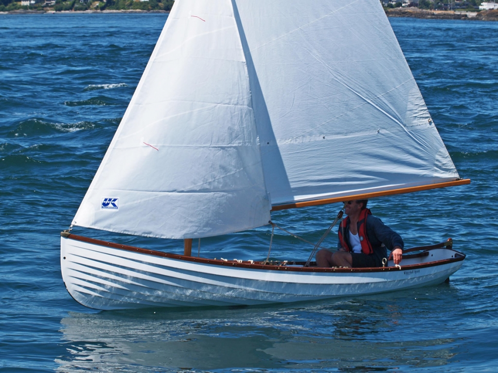 Classic Whitehall Spirit® 14 Sailing Rowboat with Optional Slide Seat