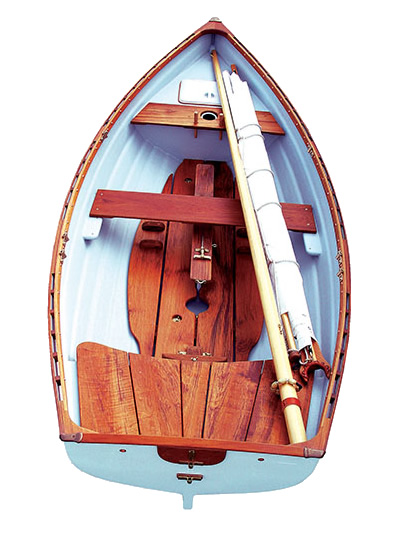 Westcoast 11.6 Standard Sailing Rowboat with Optional Slide Seat Whitehall Rowing and Sail