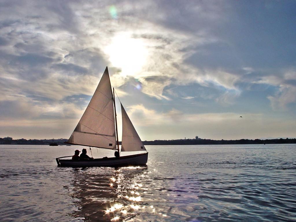 Tyee Spirit® 14 Sailing Rowboat with Optional Slide Seat