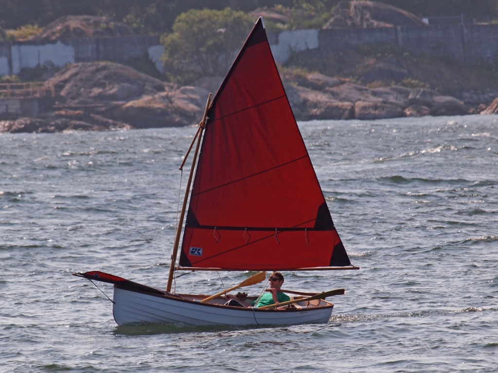 Westcoast 11.6 Sailing Rowboat with Optional Slide Seat