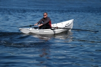 Adam Kreek, Olympian, Solo 14 Rowboat, Fitness Rower, College, Whitehall Rowing and Sail