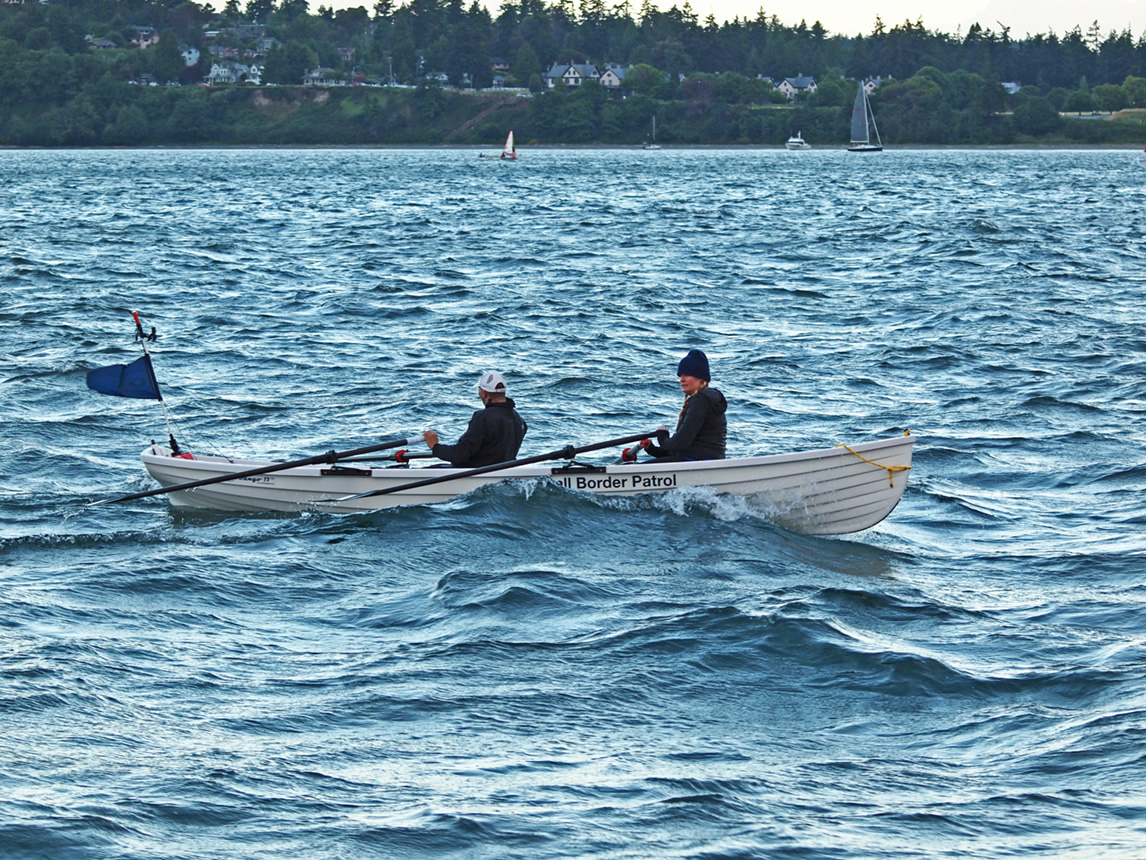 Expedition Adventure, R2AK, Race To Alaska, Diana and Peter 2015, Whitehall Rowing and Sail Rowboat