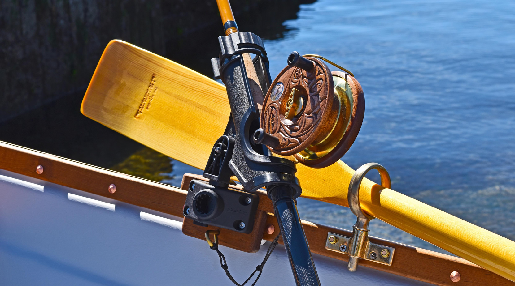 Peetz Fishing Reel Whitehall Tyee Spirit 14 Fishing Rowing boats