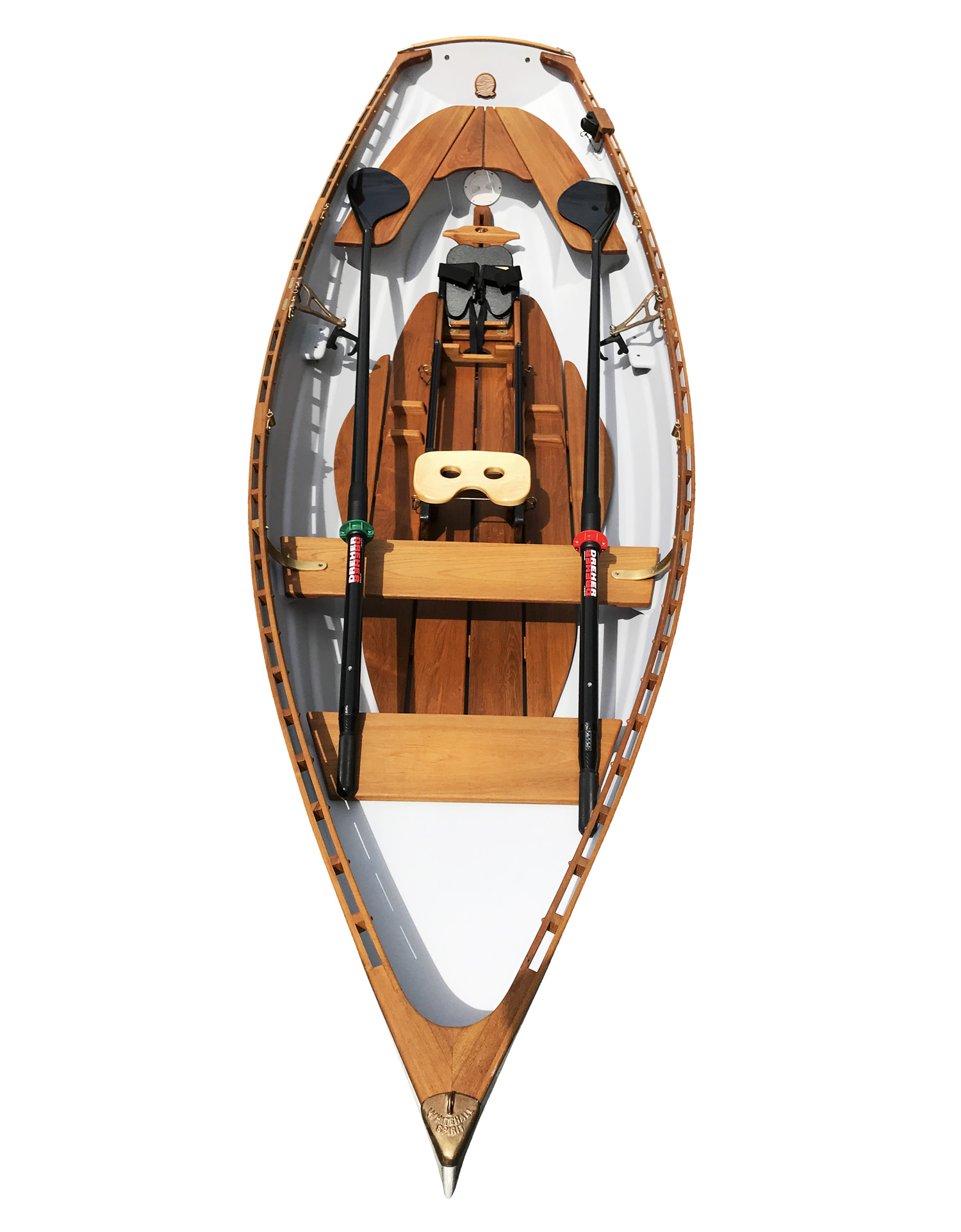 Classic Whitehall Spirit® 14 Single Slide Seat Sculling Rowboat, Whitehall Rowing & Sail
