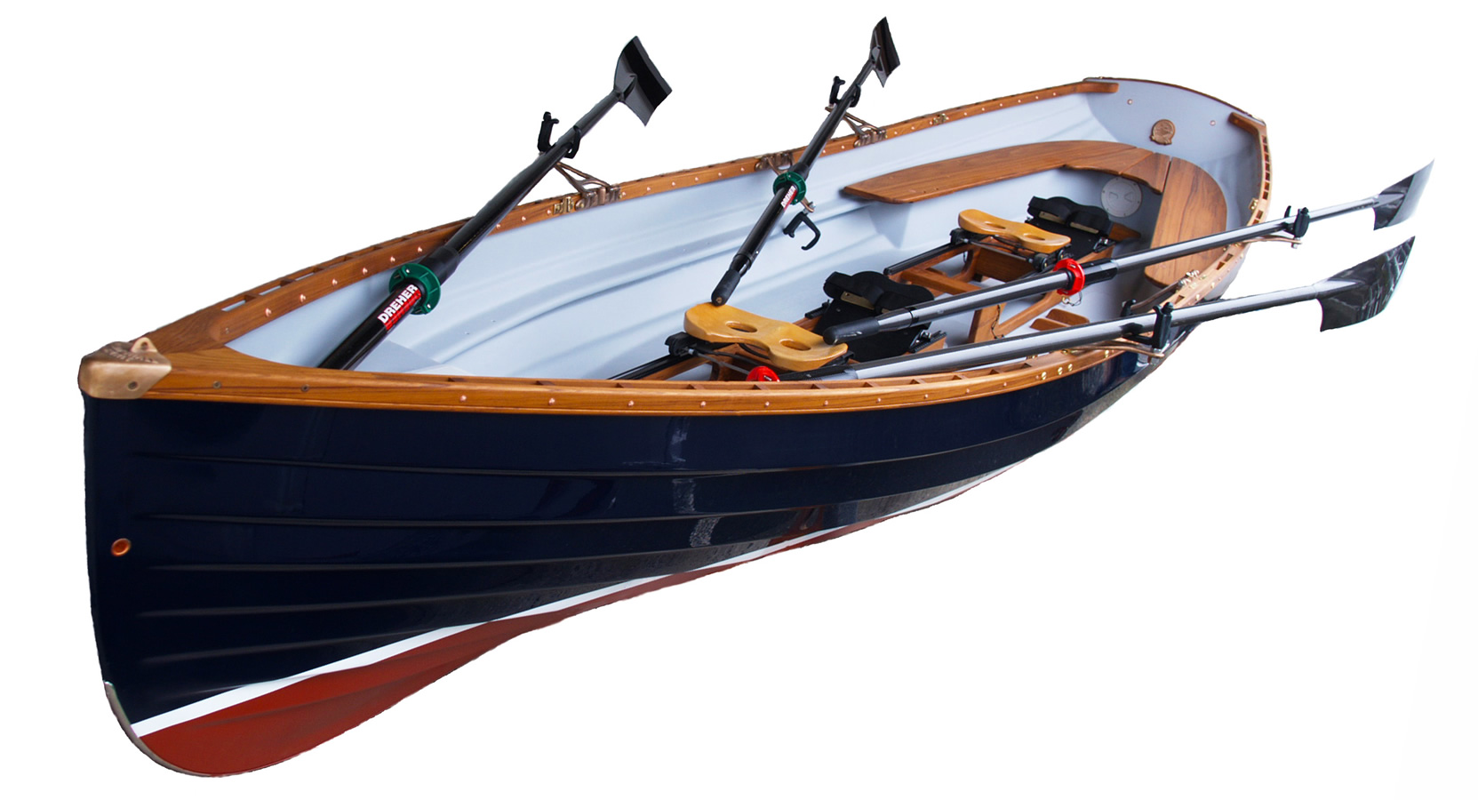Classic Whitehall Spirit® Rowboats, Whitehall Rowing & Sail