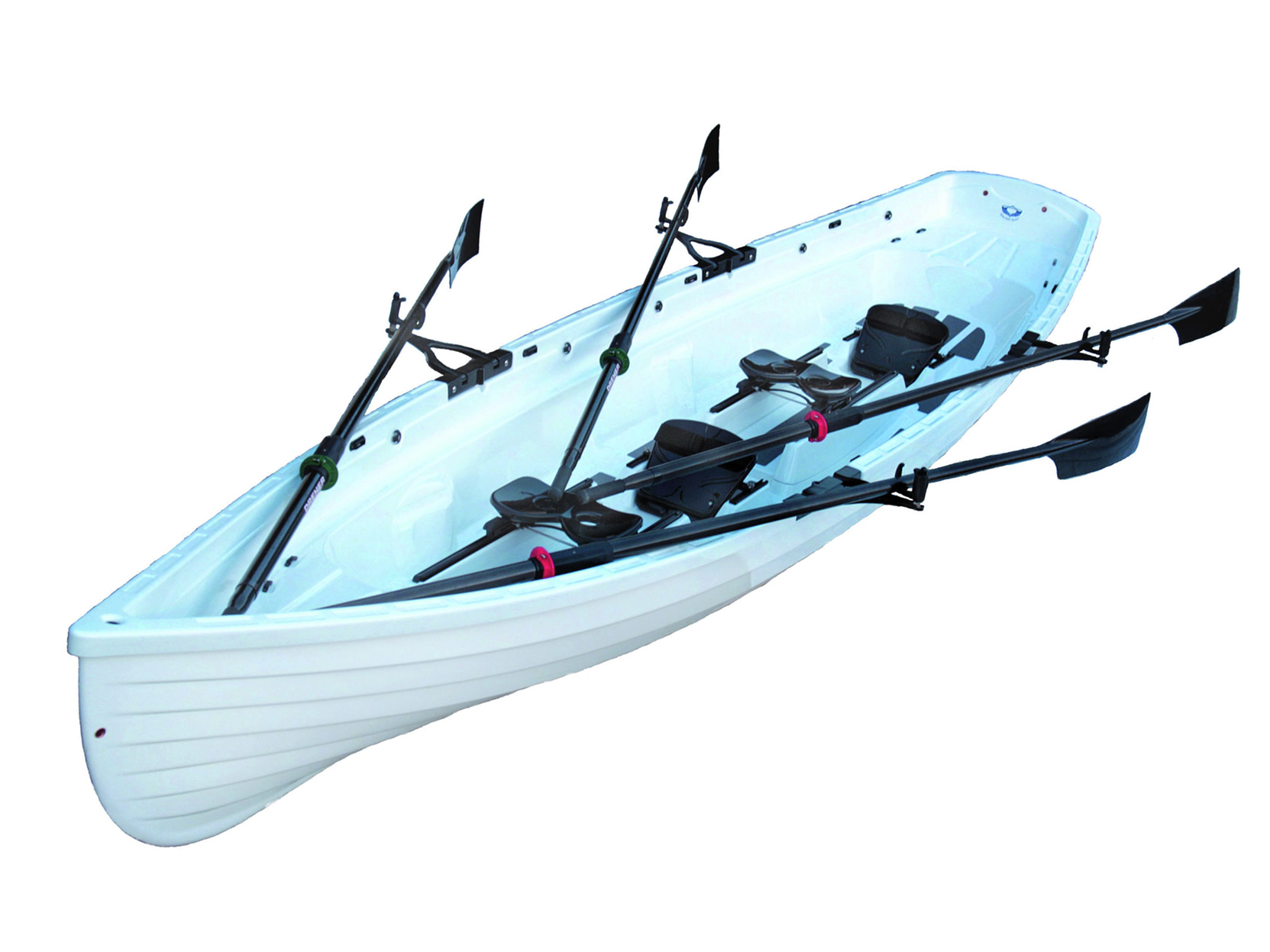 Tango 17® Double Slide Seat Sculling Whitehall Rowboat, Whitehall Rowing & Sail