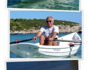 Giovanni was in love at First Sight with the Whitehall Spirit® Solo 14' Slide Seat Rowboat