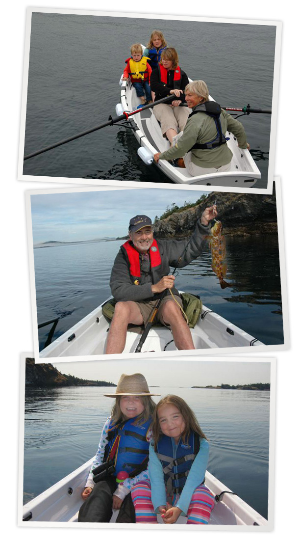 Pamela Enjoys her Solo - Whitehall Spirit® Solo 14' Slide Seat Rowboat