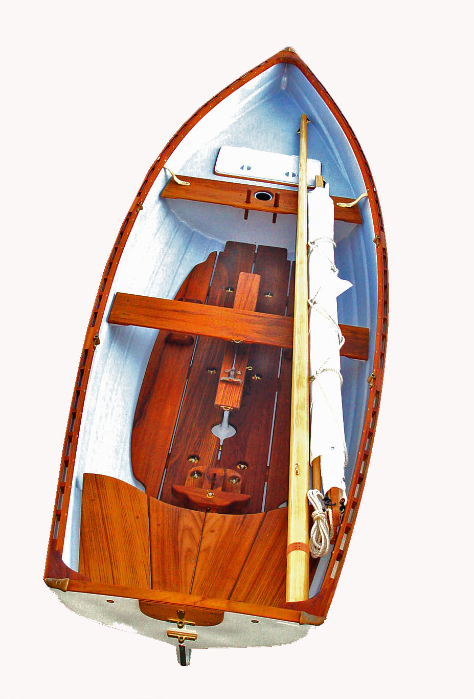 Tyee-Spirit-14-Sailing-Rowboat-with-Optional-Slide-Seat-Whitehall-Rowing-and-Sail