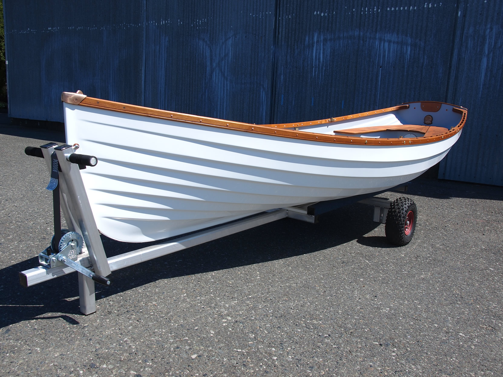 Classic Boat Dolly, Whitehall Rowing and Sail