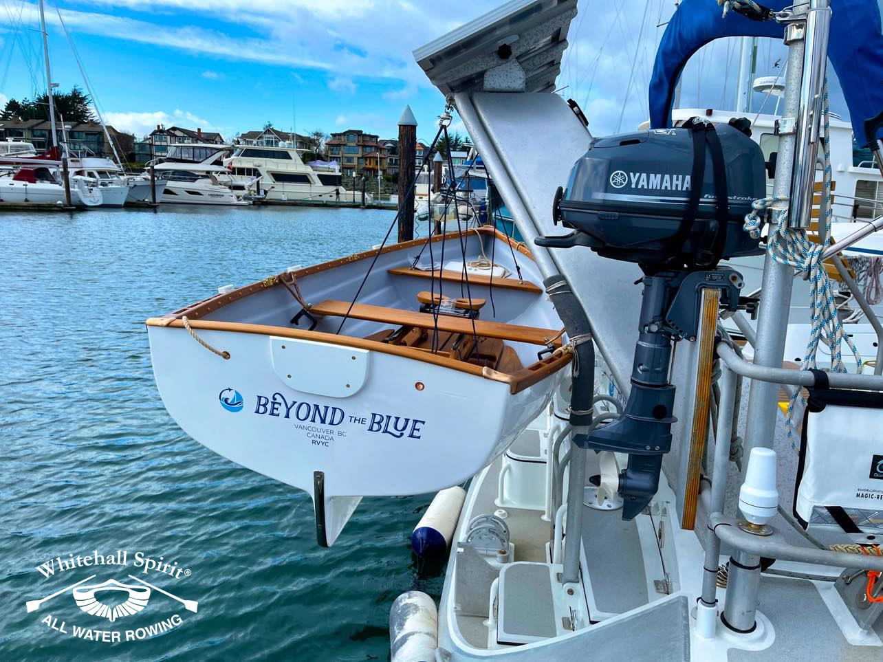 Beyond-the-Blue-boat-owner-David-with-Whitehall-Rowing-and-Sail-5L