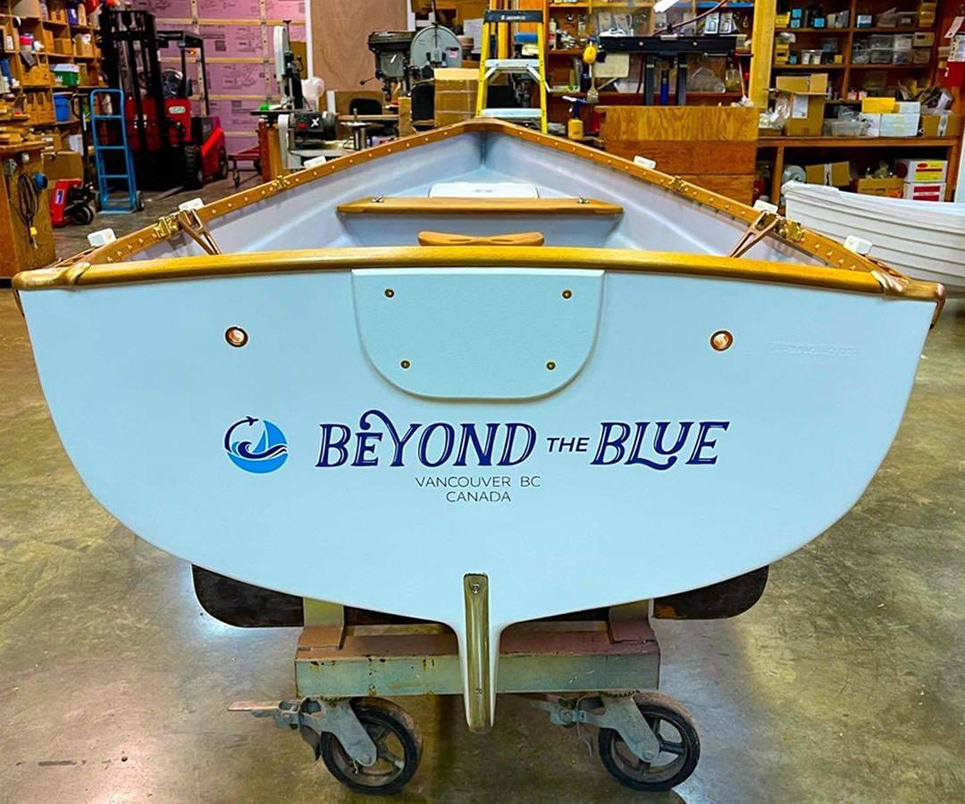 Custom Boat Name - Whitehall Spirit® Row Boat
