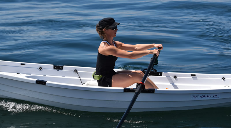 Whitehall Spirit® Solo 14® rowing boat, Whitehall Rowing and Sail