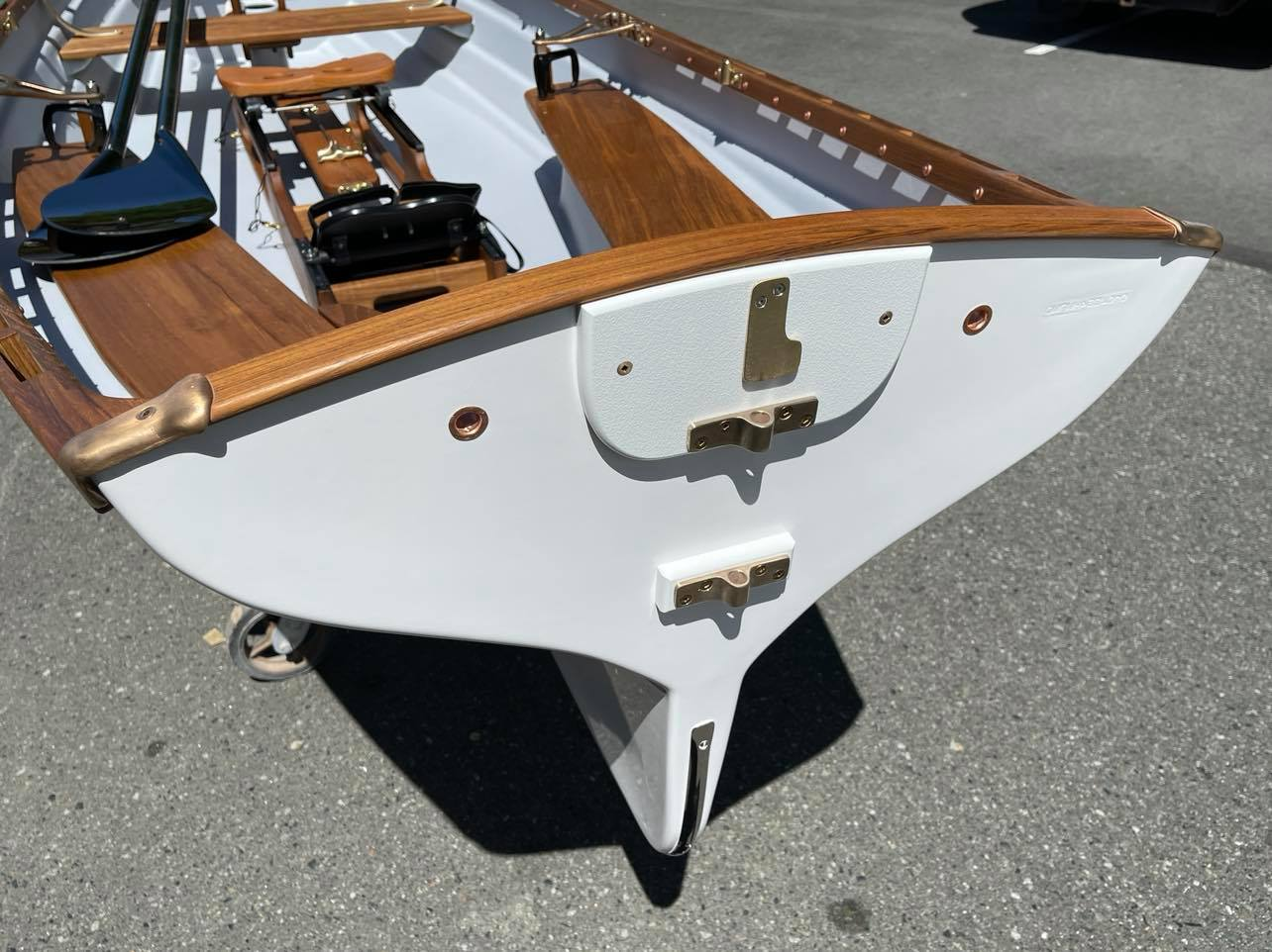 Whitehall Rowing and Sail, Boat Motor Pad